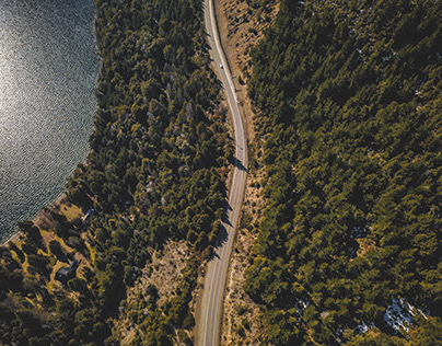 Aerial Photography · Bariloche Roads | Patagonia Arg.