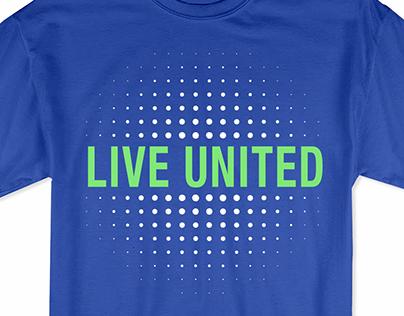 Palmetto Health and Live United T-shirt design