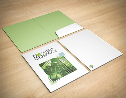 Green Space Identity Design & Branding Collateral