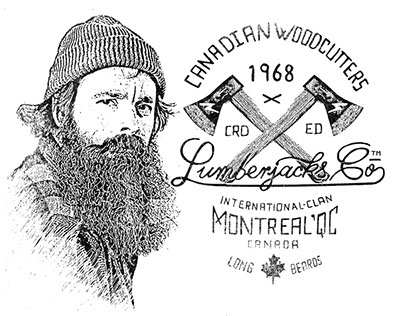Logotype for Lumberjacks Co, Montreal