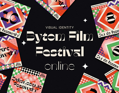 Visual Identity for 6th Bytom Film Festival