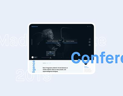 Maddy Keynote conference