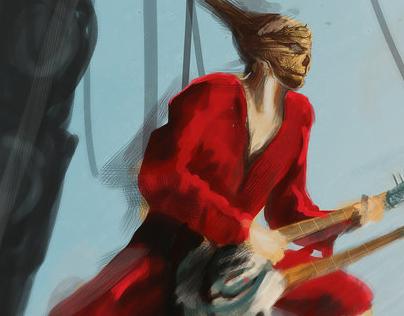 Coma Doof Warrior Speed painting
