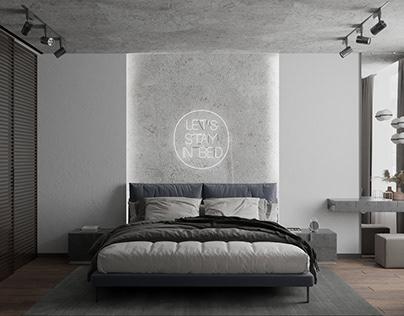 Men`s bedroom