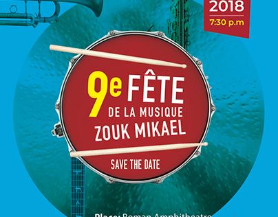 FETE_DE_LA_ MUSIQUE, Zouk Mikael, Lebanon, 2018