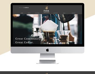 The Perk - Masculine Website Design