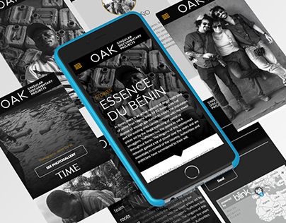 Web Design | Oak Stories