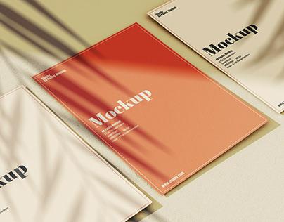 A4 Flyer Mockup Pack 12 Psd Files Download