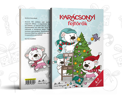 Christmas Themed Workbook Ages 4-7