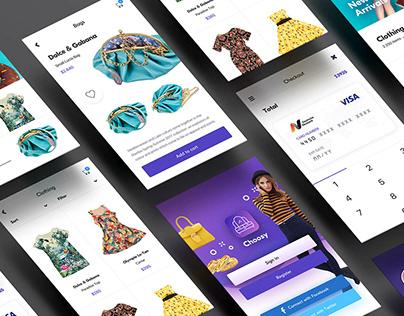 Clothing Store UI/UX