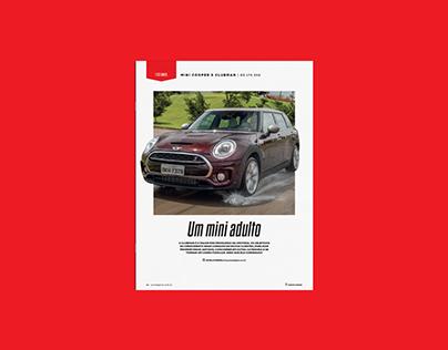 Revista Auto Esporte - Seção Testamos