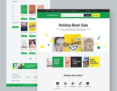 Notabene - Book Online Store Website