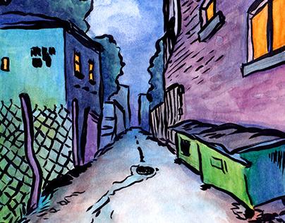 Chicago Alleyways