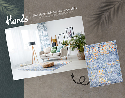 HANDS Carpets | Mockup | Lighting | Shadows