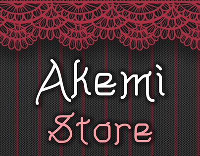 Akemi Store: Products and Graphics
