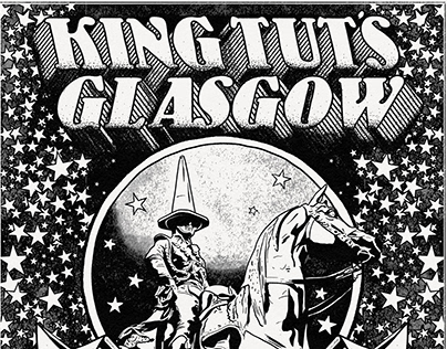 King Tut's Glasgow Gig Poster // The Amazons