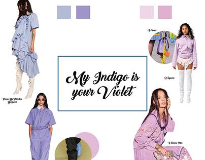 My Indago is your Violet