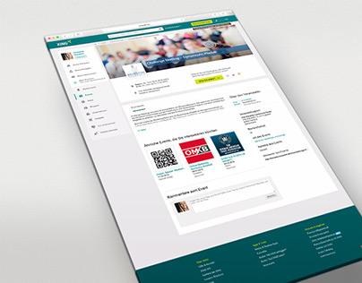 Event-Kampagne Medien für Beratungsunternehmen