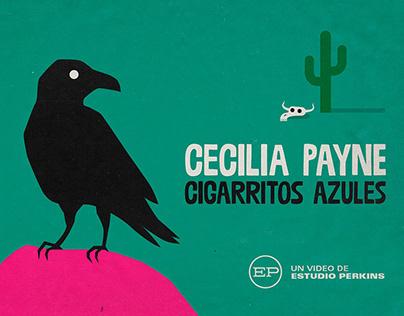 """Cecilia Payne """"Cigarritos azules"""""""