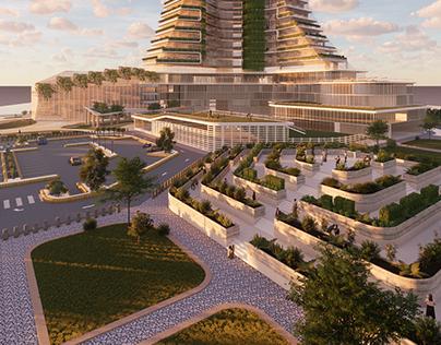 Urban Vertical Farming (Riyadh)
