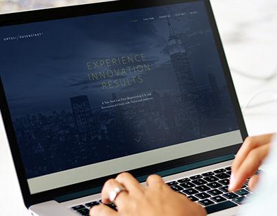 Ortoli Rosenstadt LLC Website