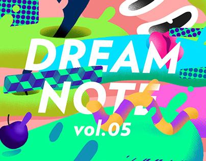 """""""dream note""""ipad创作集vol.5"""