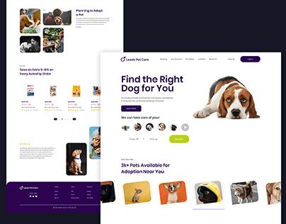 Pet Care Website #22