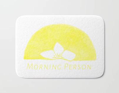 Plumeria Sunrise - Surface print