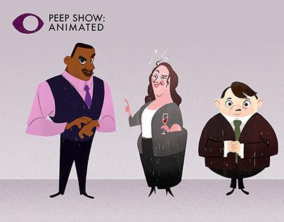 Peep Show character design