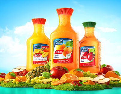 Almarai fruit juices / Cgi