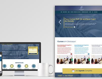 Layout Portal Conexxões Educação EAD