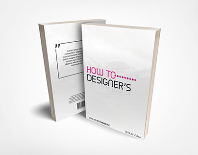 Book Cover - How to Designers