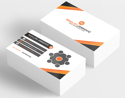 BALKANAC / БАЛКАНАЦ Business Card Design