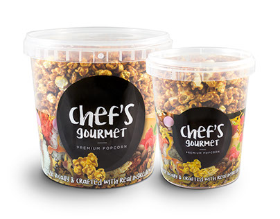 Chef's Gourmet brand & packaging design