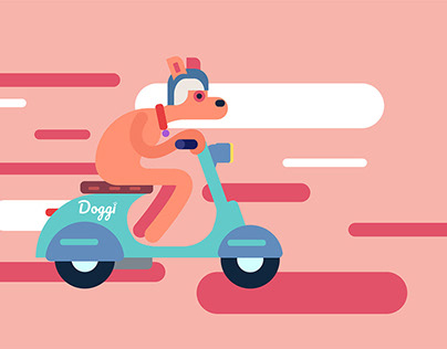 Doggi - Illustrations