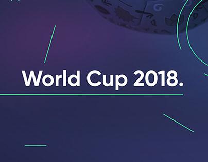 World Cup 2018 - Soccer Ball Designs