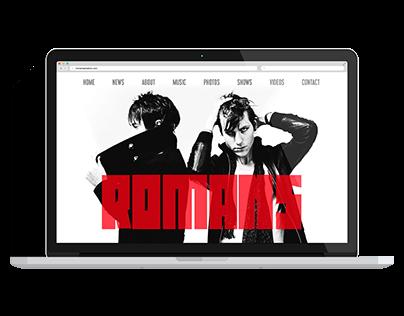 Band & Music Websites