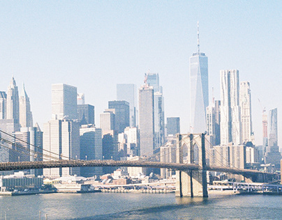 NYC on One Roll of 35mm Film
