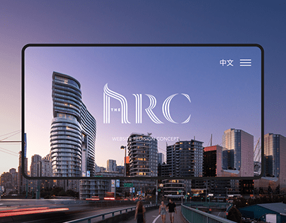 The Arc - Premium real estate website