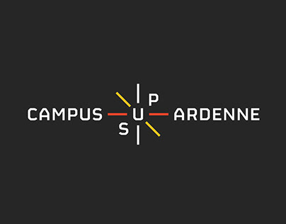 Campus Sup Ardenne - Naming & brand design