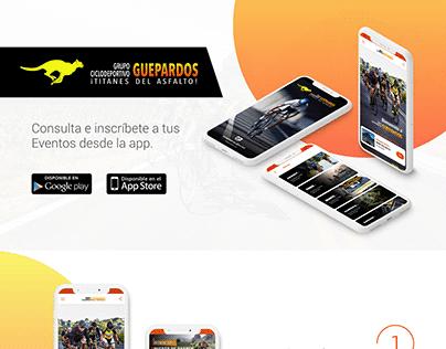 App para Grupo Guepardos