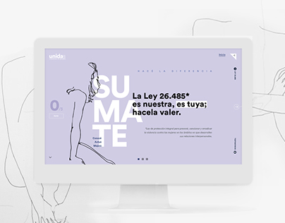 """UNIDAS"" / Interfaz interactiva de información"