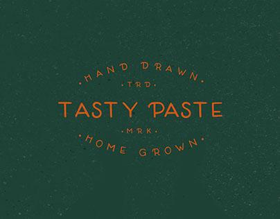 Tasty Paste- Hand drawn font- FREE!