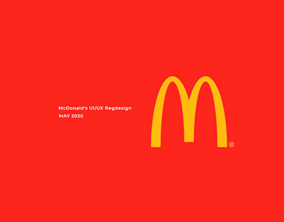 McDonald's UI/UX Redesign