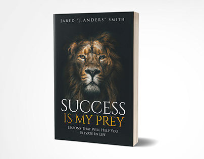 Success is my prey book cover design