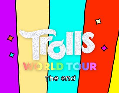 Troll World Tour ending sequence