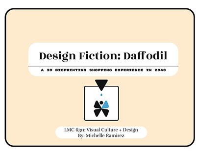 Design Fiction - 3D BioPrinting