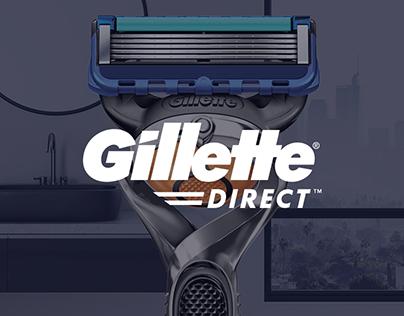 Gillette Direct Website