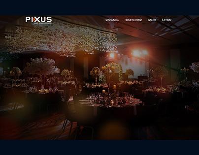 Pixus Web Sitesi Tasarımı