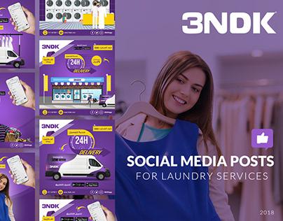 3andak - Social Media Design